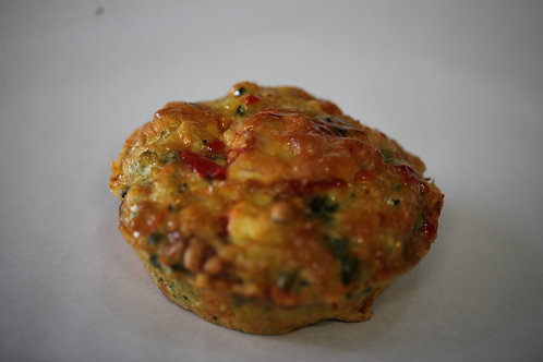 Savoury Vegetable Muffin (GF)