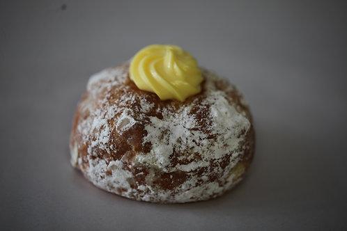 Custard Cream Doughnut