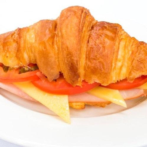 Ham, Cheese & Tomato Croissant Platter