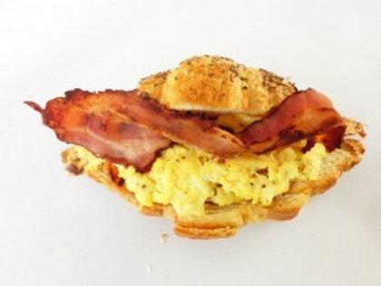 Bacon, Egg & Aioli Croissant Platter