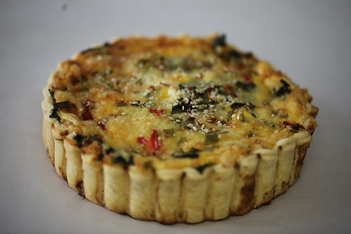 Large Vegetarian Quiche