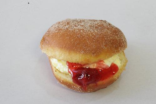 Strawberry Fresh Cream Doughnut