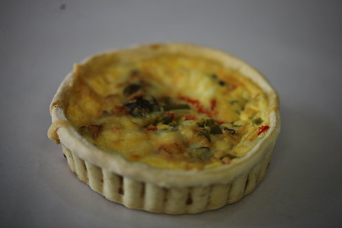 Spinach Pinenut & Feta Quiche
