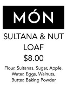 Sultana & Nut Loaf