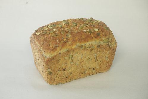 Sunflower & Pumpkin Seed Kibbled Rye Loaf