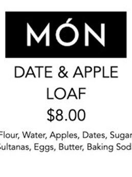 Date & Apple Loaf