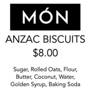 ANZAC Biscuits 12 Pack