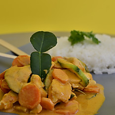 CURRY Rouge Crevettes