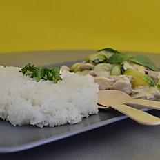 CURRY Vert Crevettes