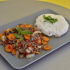 BASILIC THAI Sauté Crevettes