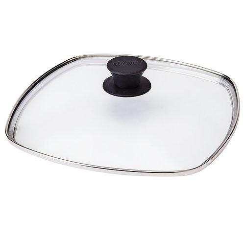 "10.5"" Square Glass Lid"