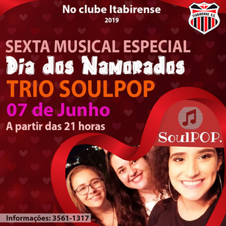 Sexta Musical Especial dia dos Namorados