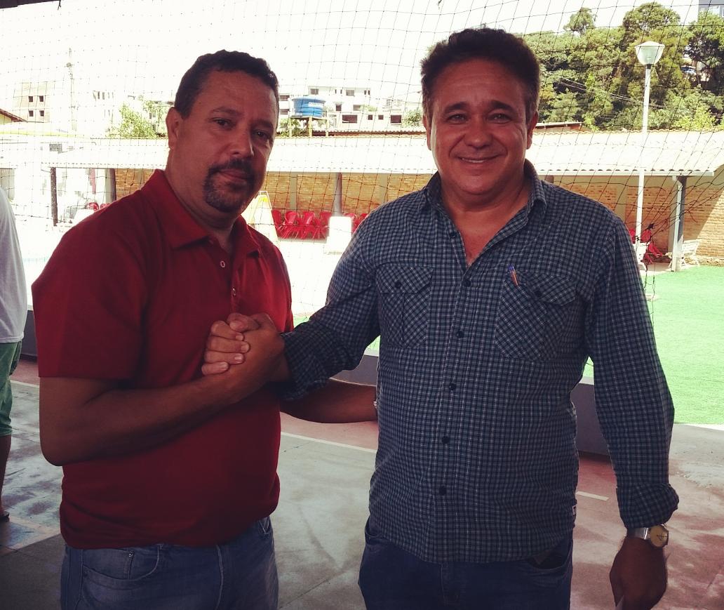 Carlos Alves e Mauro Moraes