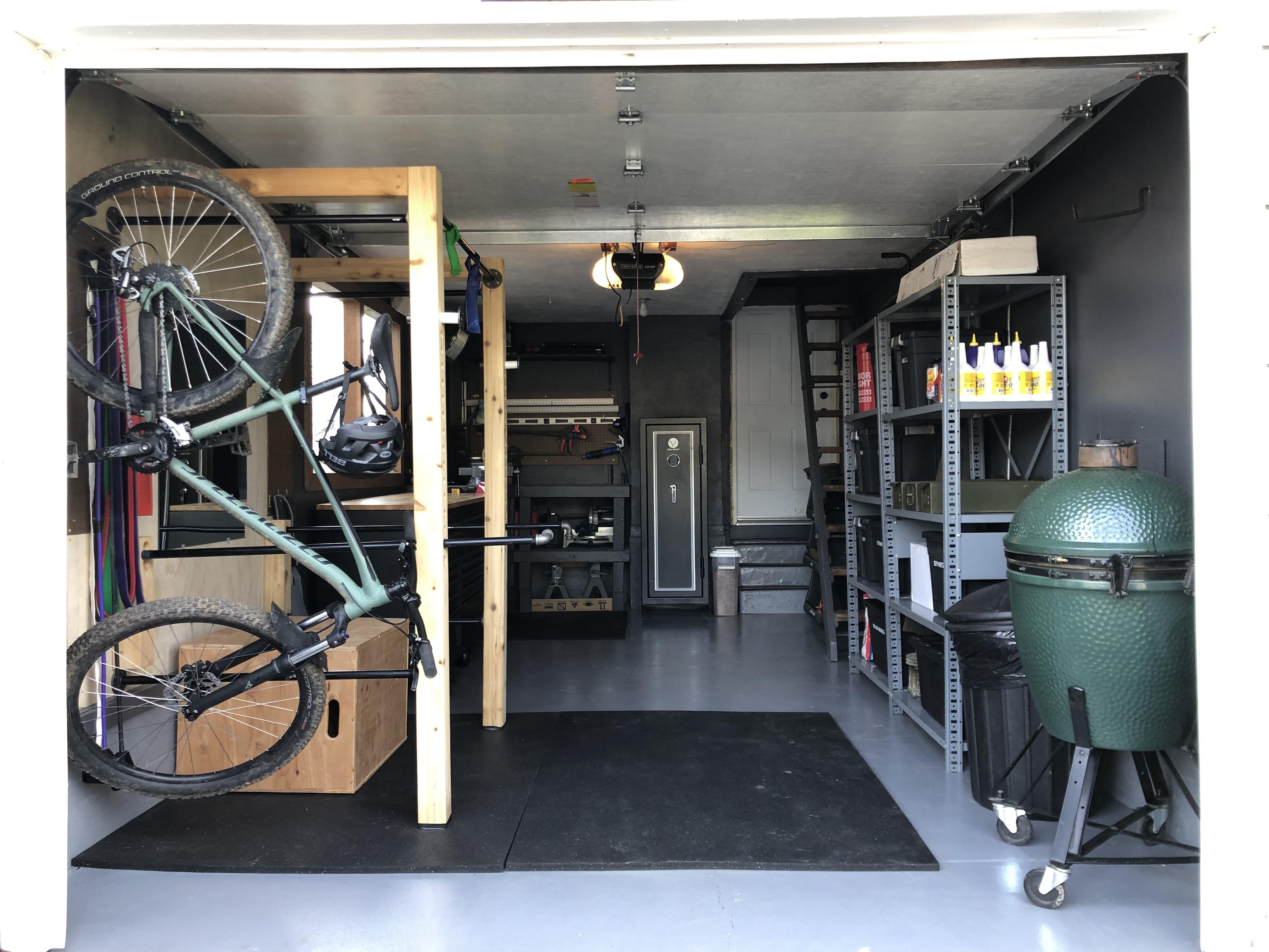 Total Garage Makeover & Gym Build