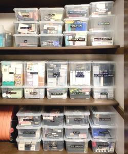 Beauty Closet Backstock with Custom Labels