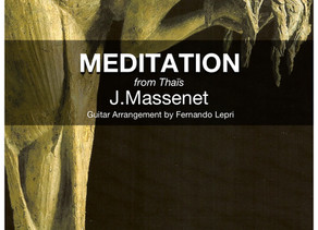 Meditation by Thaïs, new arrangement by F. Lepri