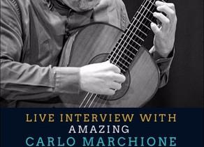 Today: Live Interview at Forum Gitarre Tehran