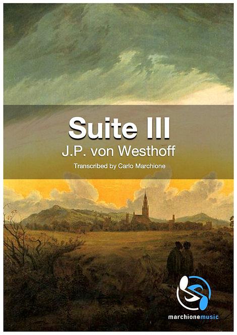 Sonata III, J.P. von Westhoff