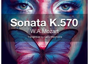 Sonata K.570 by W.A.Mozart available!
