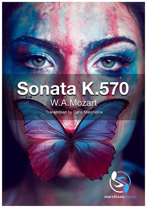 Sonata K.570, W.A.Mozart