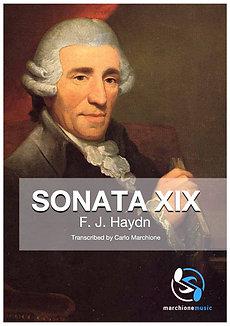 Sonata nº19 in E minor, F.J.Haydn