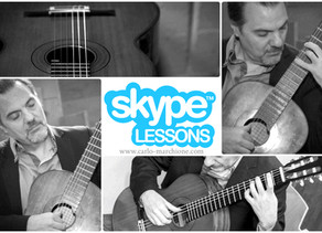 Skype Lessons with Carlo!