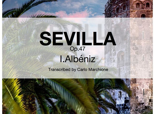 Sevilla, our new transcription at MarchioneMusic