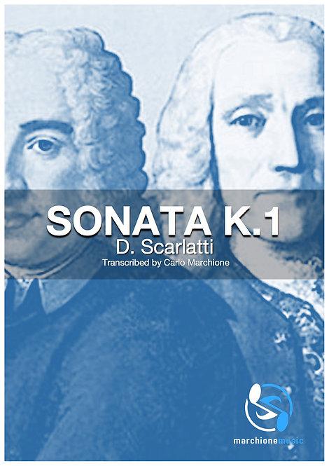 Sonata K.1, D.Scarlatti