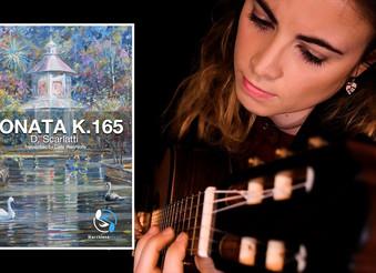 Transcription of Sonata K.165 now available!