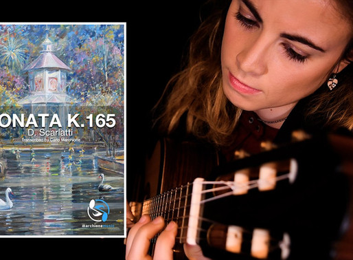 Transcription of Sonata K.165 now available!