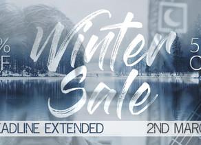Discount Deadline Extended!