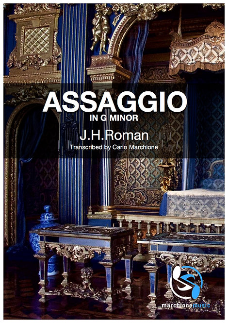 Assaggio in G minor, J.H.Roman