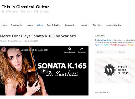 Featured at ThisIsClassicalGuitar.com