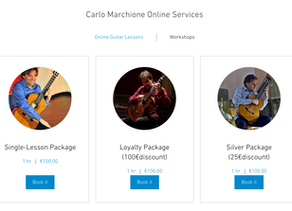 Book your first Online Lesson!