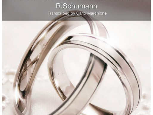New transcription at MarchioneMusic by R.Schumann