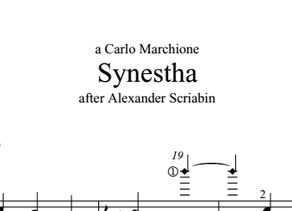 'Synestha' by K.Vassiliev dedicated to Carlo