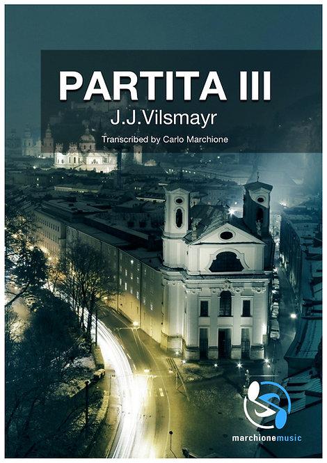 Partita III, J.J. Vilsmayr