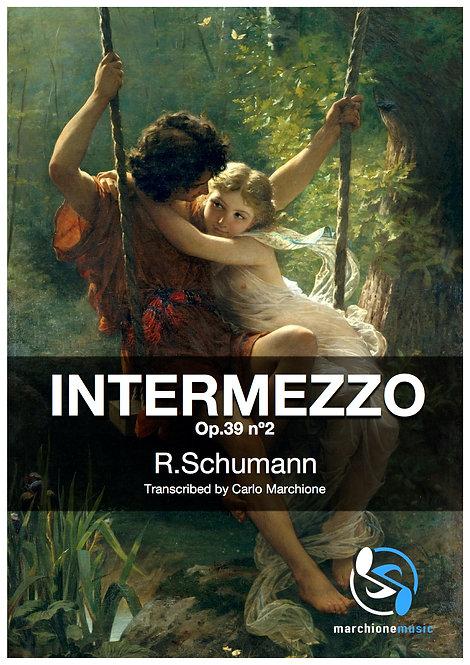 Intermezzo Op.39 nº2, R.Schumann