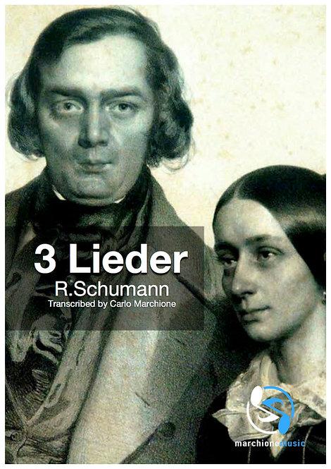 3 Lieder by R.Schumann