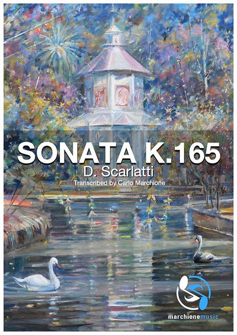 Sonata K.165, D.Scarlatti