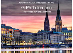 New transcription! Telemann is back!