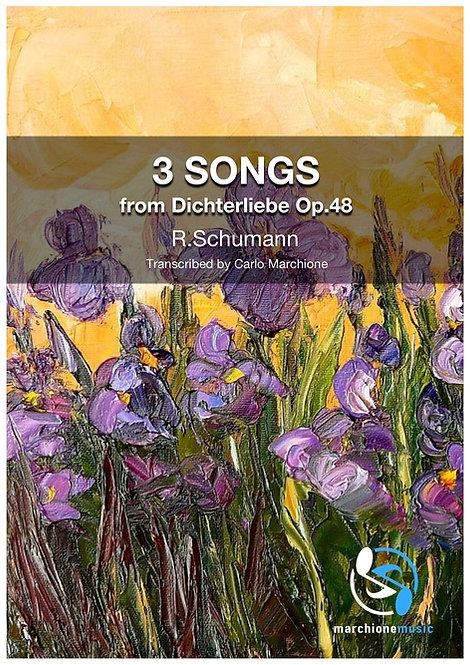3 Songs from Dichterliebe Op.48, R. Schumann