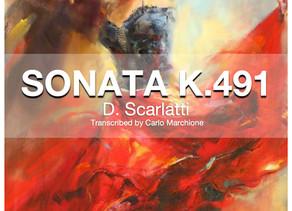 New Transcription release! The Sonata K.491by D.Scarlatti!