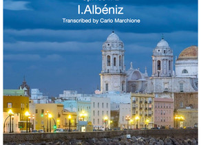 Tango by I.Albéniz for solo guitar