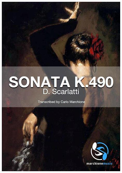 Sonata K.490, D.Scarlatti