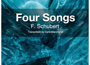 4 Releases in 1? Yes, it's Schubert time!