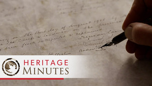 Heritage Minutes: Treaty