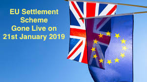 EU Settlement Scheme Gone Live on 21 January 2019