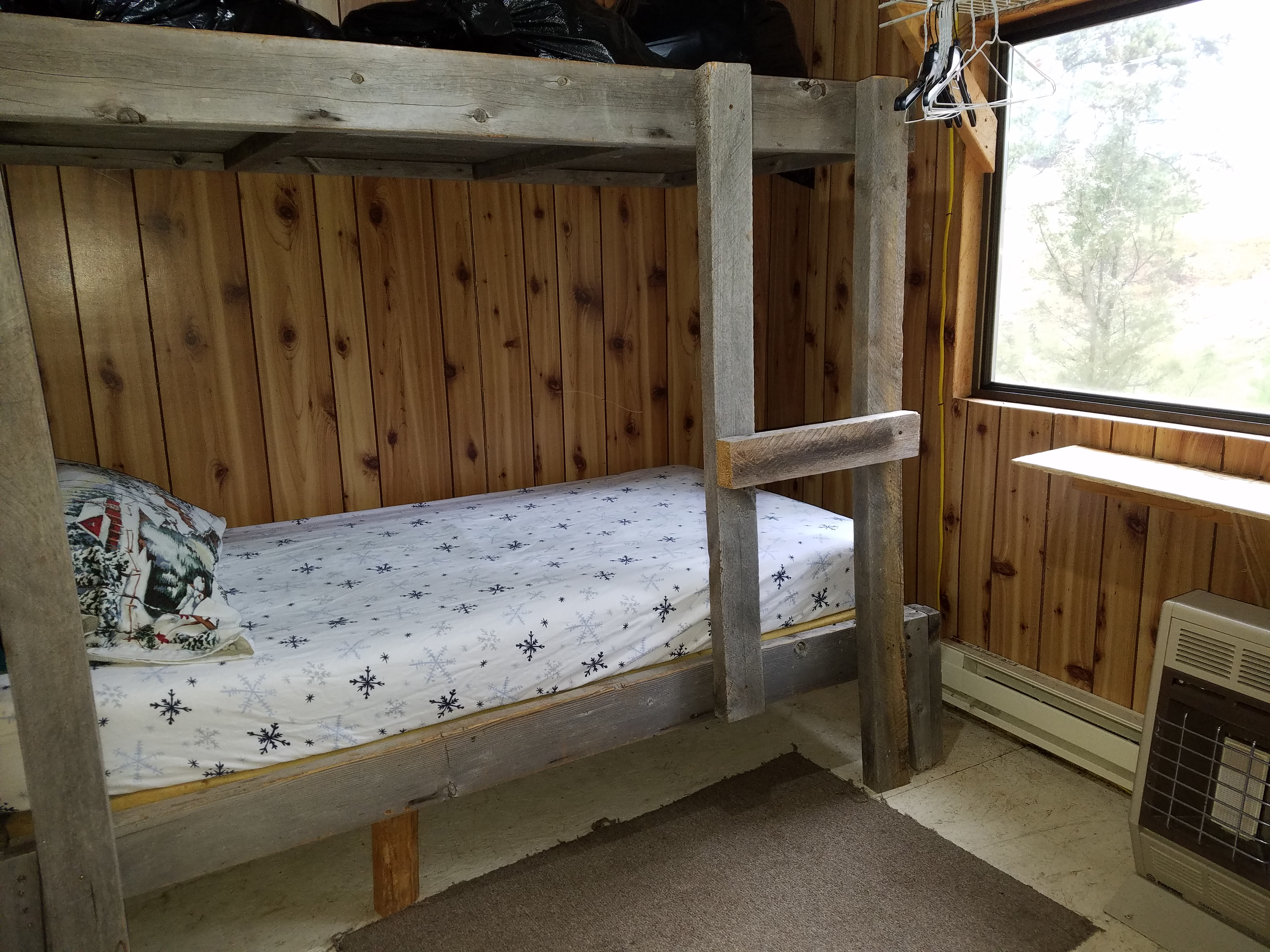Inside the client cabin 1