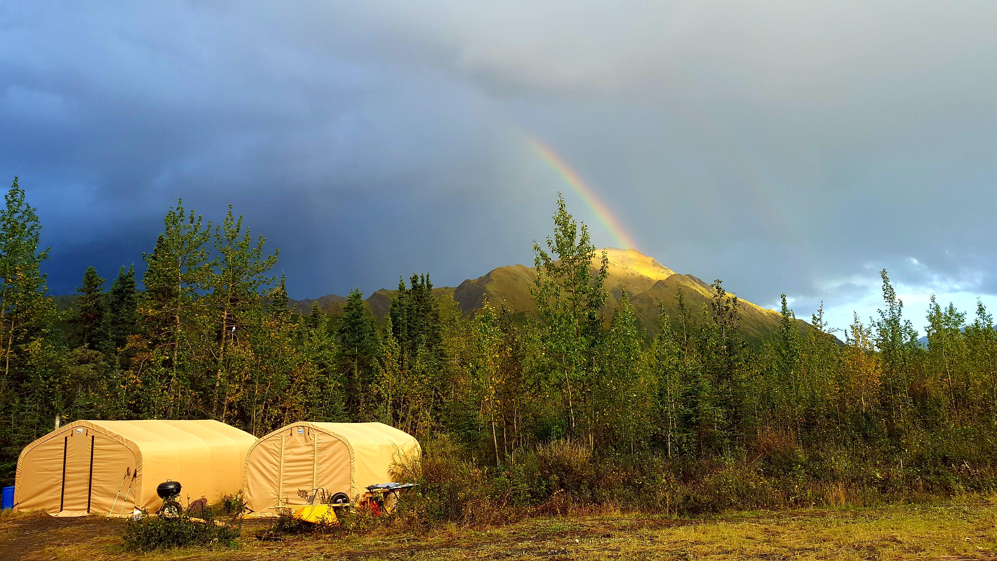 Snag Creek base camp